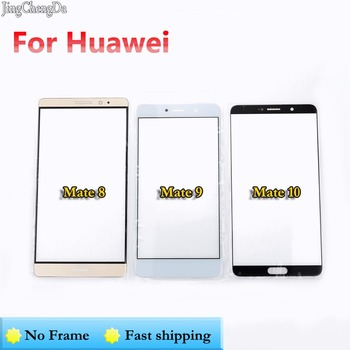 JCD 30X For Huawei Mate 8/ 9/ 10 Touch Lens Replacement Front Glass outer Lens Cover Screen Protector Phone Touch Lens