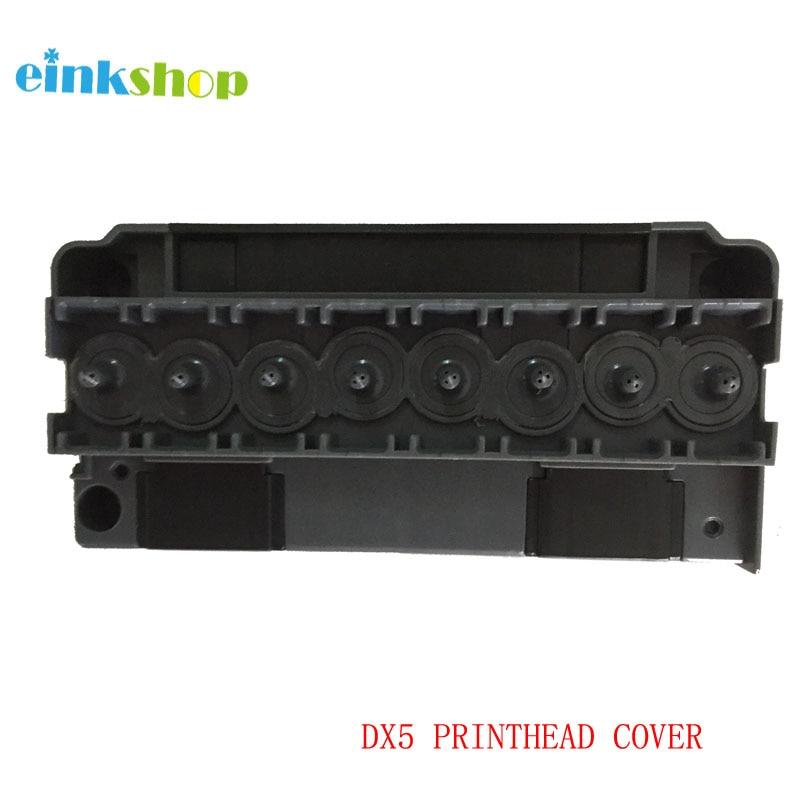 Adaptador Tampa do Cabeçote De Impressão Solvente Para Epson R1900 DX5 einkshop R1800 R2000 R2880 4880 4450 7880 Para Mimaki JV33 JV5 DX5 cabeça de impressão