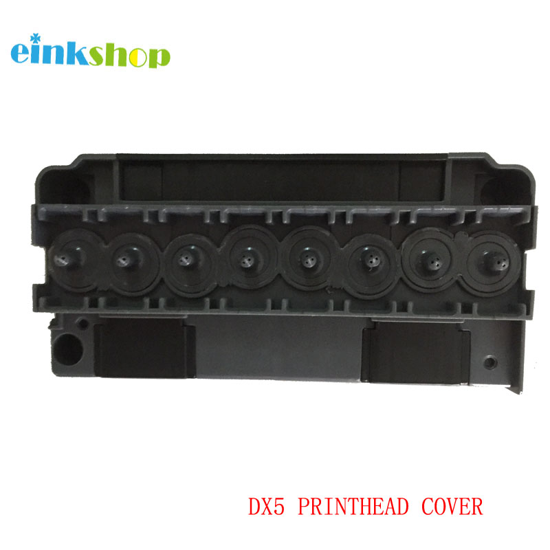 einkshop DX5 Solvent Printhead Cover Adapter For Epson R1900 R1800 R2000 R2880 4880 4450 7880 For Mimaki JV33 JV5 DX5 Print head original eco solvent f186000 dx5 unlocked print head dx5 printhead for epson dx5 print head 7880 r1800 r1900 r2000 r2880
