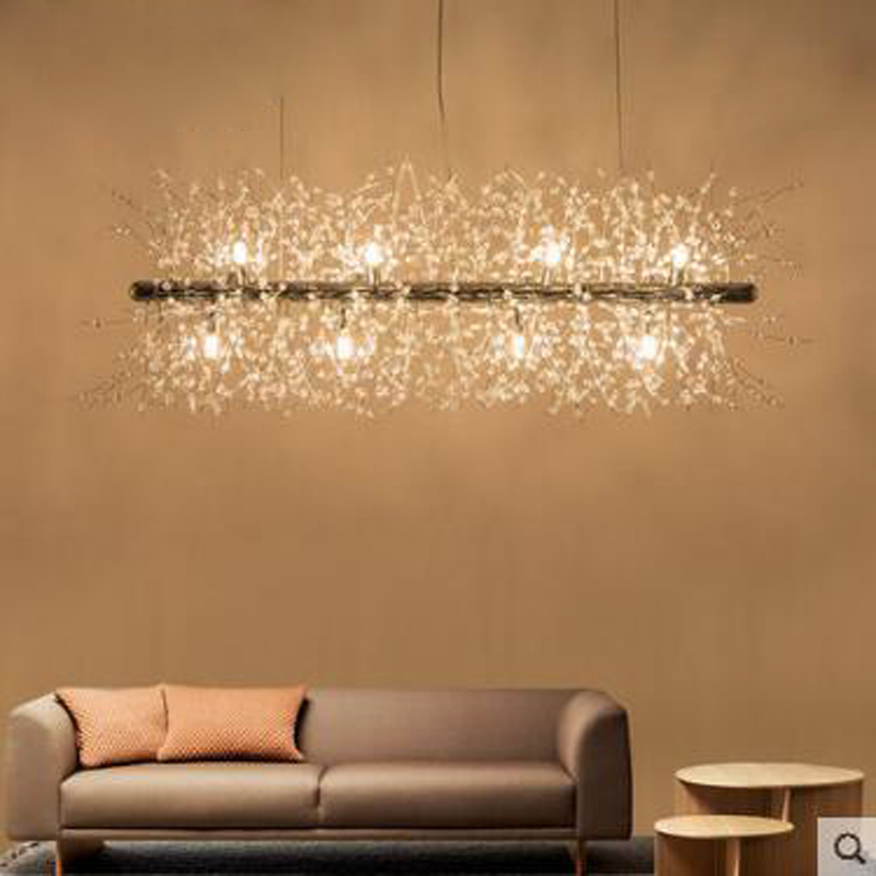 Nordic modern minimalist living room crystal restaurant chandelier crystal creative led art bar warm bedroom lamps led fixture nordic modern minimalist living room crystal restaurant chandelier crystal creative led art bar warm bedroom lamps led fixture