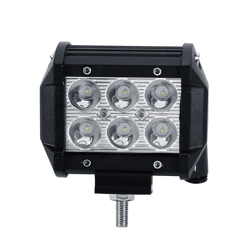 Universal type 18W Cree Chips LED work light spot flood beam offroad Waterproof auto Rescue lamp Night traffic support
