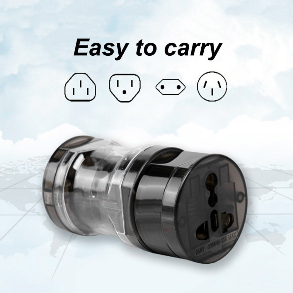 Professional Universal Worldwide Travel Charger Power Adapter Wall Conversion Socket Electric Converter US AU UK EU Plug