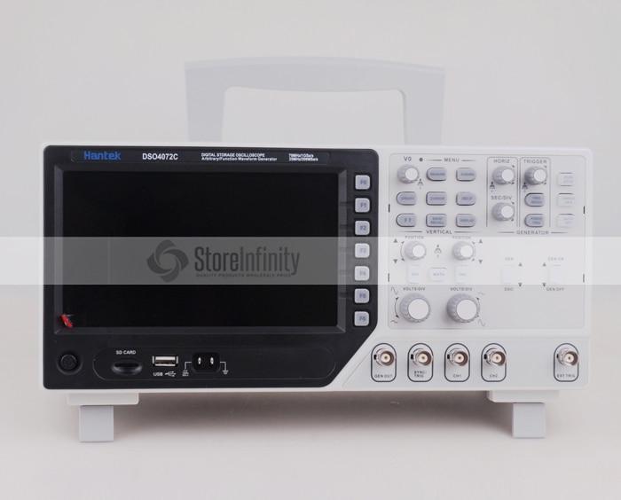 Hantek DSO4072C 2 Channel Digital Oscilloscope 1 Channel Arbitrary Function Waveform Generator