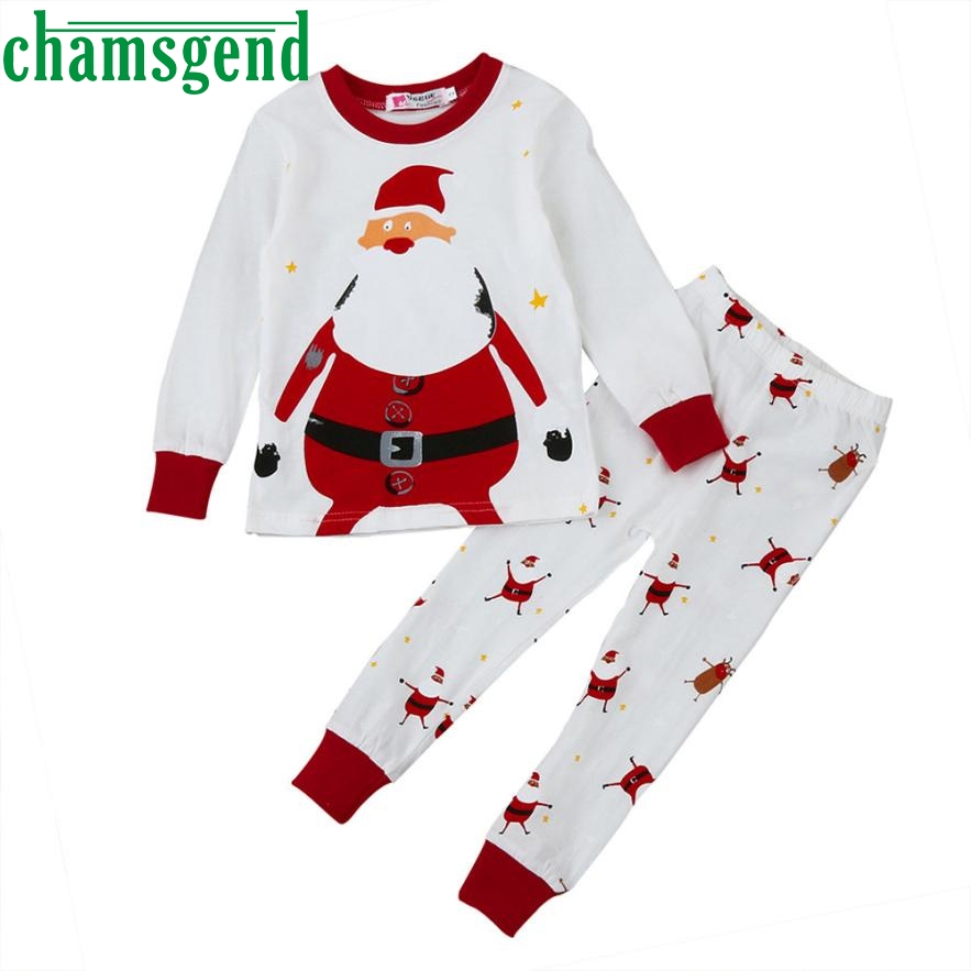 Mother & Kids Boys' Baby Clothing United Xmas 2pcs Set Clothes Newborn Baby Boy Girl Christmas Letter Tops Romper+snowman Bear Long Pants Outfit Cotton Clothing 0-24m