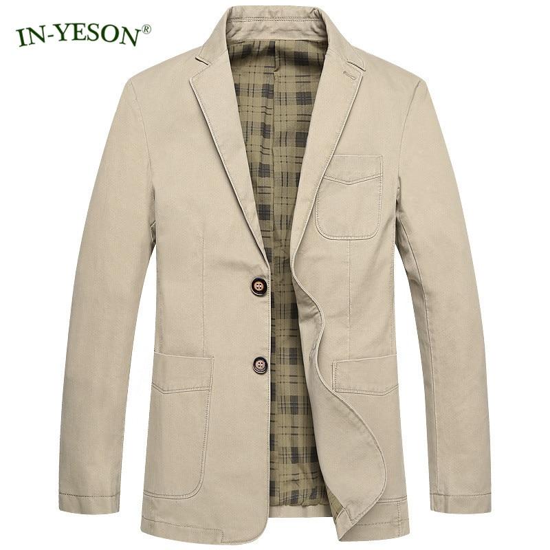 2017 New Casual Blazer Men Spring Autumn Cargo Denim Coat Slim Fit Blazer Hombre Suit Jacket Men Terno Masculino Big Size M-4Xl