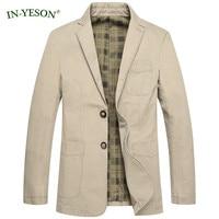 2017 New Casual Blazer Men Spring Autumn Cargo Denim Coat Slim Fit Blazer Hombre Suit Jacket Men terno masculino Big Size M 4XL