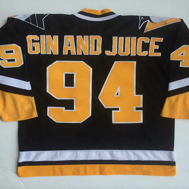 new styles 85686 eab9c 94 GIN AND JUICE Pittsburgh Penguins 1994 CCM Vintage ...