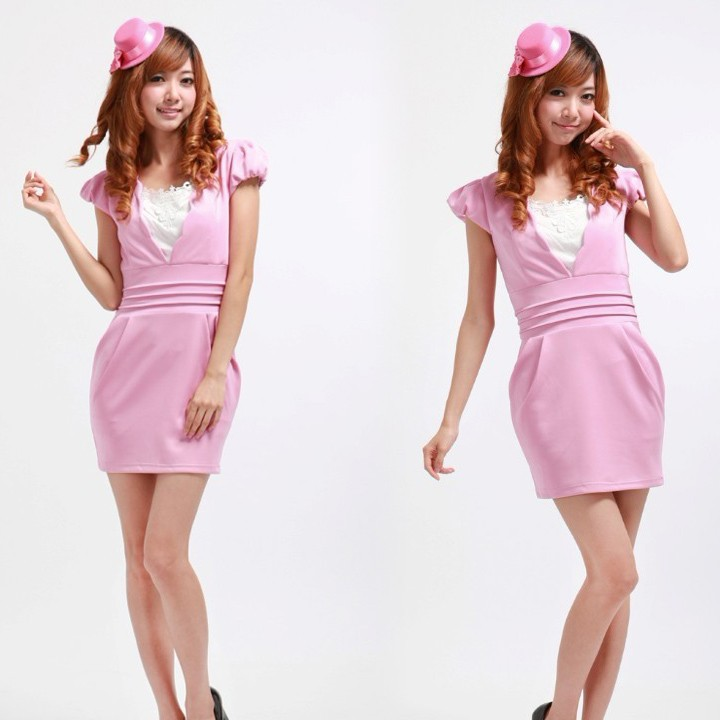 Compare Prices on Pink Bubble Dress- Online Shopping/Buy Low Price ...