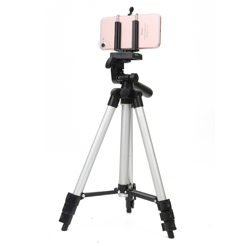 36 100 cm Universal Adjustable Tripod Stand Mount Holder Clip Set For Cell Phone Camera New