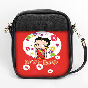 Image 3 - New fashion Betty Boop Sling Bag Custom Women Sling Shoulder Bags Leather  Mini Girls Tote Party Bag  DIY Sling Bag