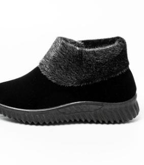 Moda Gamuza Ropa Negro Zapatos Cómodos Algodón Nuevo Abrigo rojo Madre La Planos 2018 De Corto wHXqn