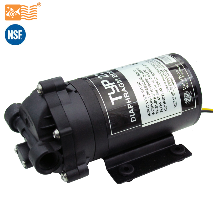 Coronwater 75gpd Water Filter RO Water Booster Pump 2766NH Increase Reverse Osmosis System Pressure