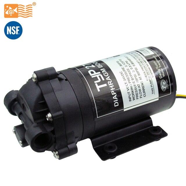 Coronwater 75gpd su filtresi RO hidrofor pompası 2766NH artırmak ters osmoz sistemi basınç