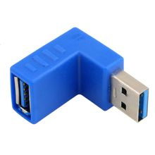 90 DEGREE USB 3.0 AM/AF Connector for laptop/PC Computer