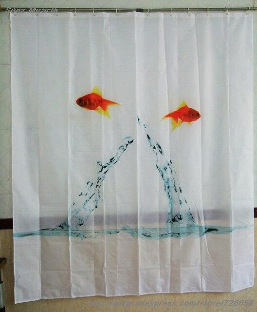 Double poissons volants rideau 180 cm * 200 cm européenne élégant et ...