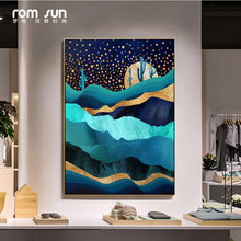 Nordic Style Amazing World Landscape Canvas Painting Wall Art Picture For Living Room Home Decor Kids Nursery Posters And Prints(China)