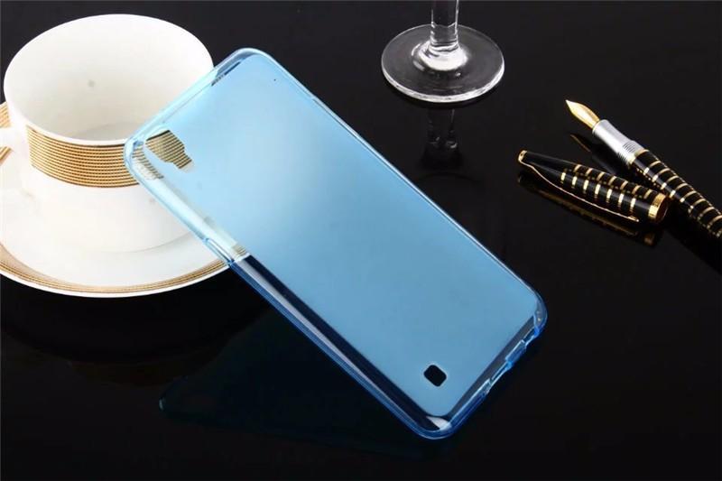 Dla LG X Przypadku Zasilania 5.3 cal Matte TPU Back Cover Case dla LG X Power K210 K220 K220ds Case Miękkie Silikonowe Ochronna Futerał na Telefon torba 6