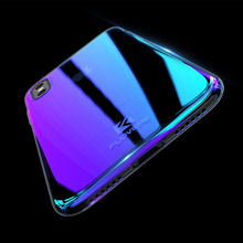 Premium Phone Cases For iPhone X Luxury Blue Ray Ultra Slim Hard Protective Back Cover For iPhone 8 7 Plus Accessories Case Capa