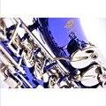 2016 SELMER 54 ми-бемоль альт-саксофон синий серебряный ключ инструмент Лучшие музыкальные UPS/DHL доставка