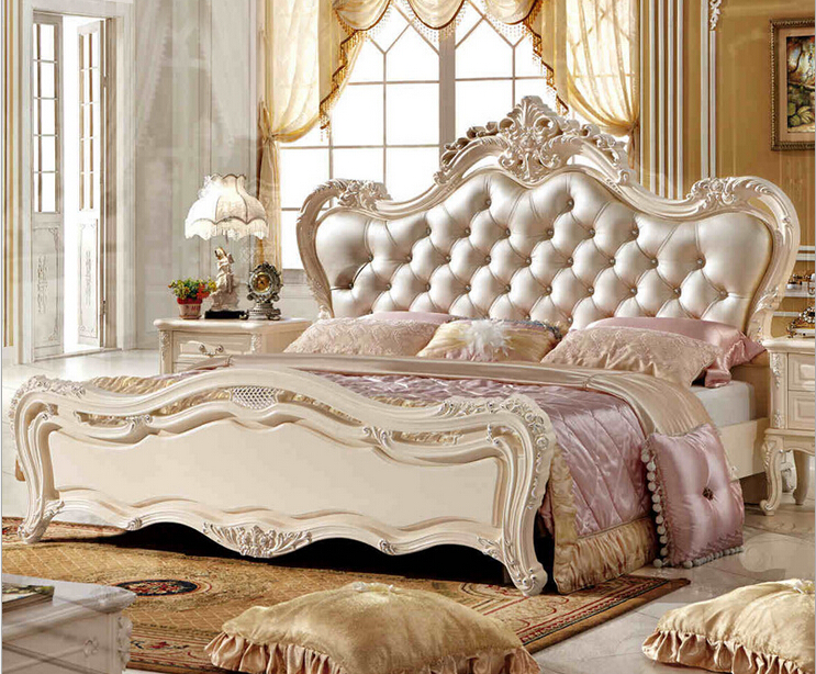 European Style Wedding Bed 0409 A852 In Beds From