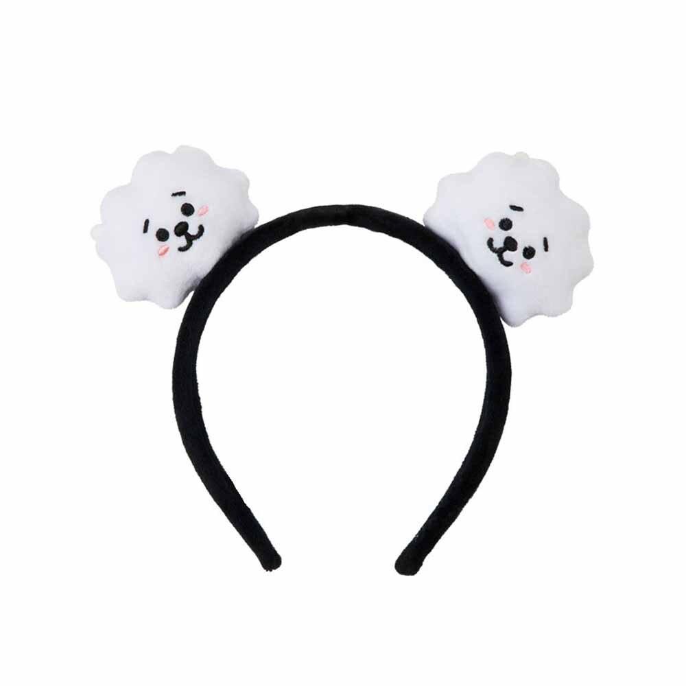 Cartoon Fashion Kawaii Band Kpop Bangtan Girls Korean Style Headbands Plush Hair Hoop Accessories Gift Head Band(China)