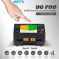Оригинальный HOTA D6 Pro Smart Зарядное устройство AC200W DC650W 15A 1 ~ 6 S для LiPo NiMH аккумулятор телефона Беспроводной зарядки RC модели DIY запасные части