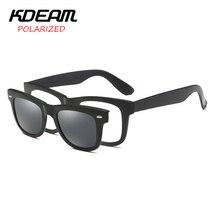 KDEAM Brillen TR90 Rahmen Männer Polarisierte Sport Sonnenbrille Optische gläser Frauen Polaroid HD objektiv lentes de sol 4 farben UV400