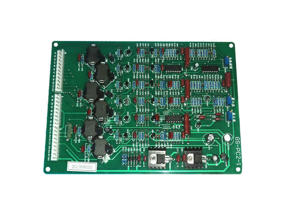 Three phase full control  DC circuit board  welding machine pcb  GS-PC2-1  JG031930 270 350 tapped nbc250 co2 protection welding machine main control board circuit board