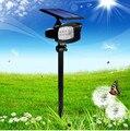 8 светодиодных солнечных супер ярких прожекторов лужайка plug in lights садовые Ландшафтные светильники