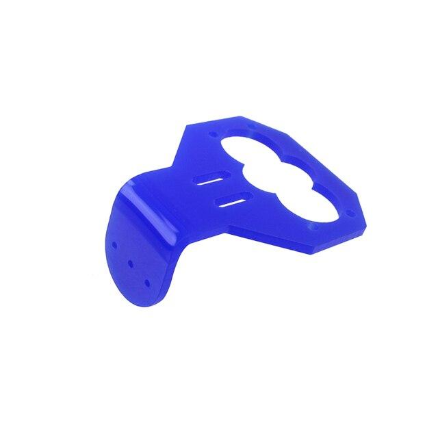 Blue Ultrasonic HC-SR04 Sensor Mounting Bracket