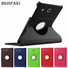 360 Rotating Magnetic Smart Case Cover for Samsung Galaxy Tab E 9.6 SM-T560 T561 PU Leather Stand Smart T560 Tablet Cases Funda