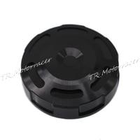 Front Brake Master Cylinder Fluid Reservoir Cover Cap For Suzuki GSXR600/750 06-14 GSXR1000 2005-2015 SV650N/S 99-08 Black New