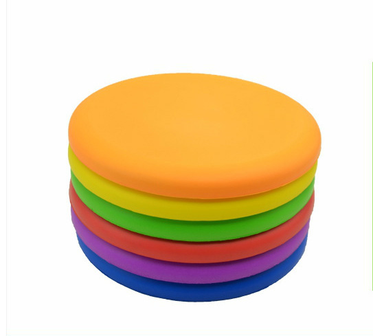 Silicone Eva Frisbee Children s Soft Flying Saucer Kindergarten Physical Training Equipment Outdoor Sports Safety Toys