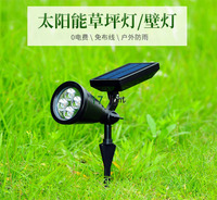 ABS plastic material can be lawn lamp/wall lamp solar energy saving light for garden lamp and park lamp