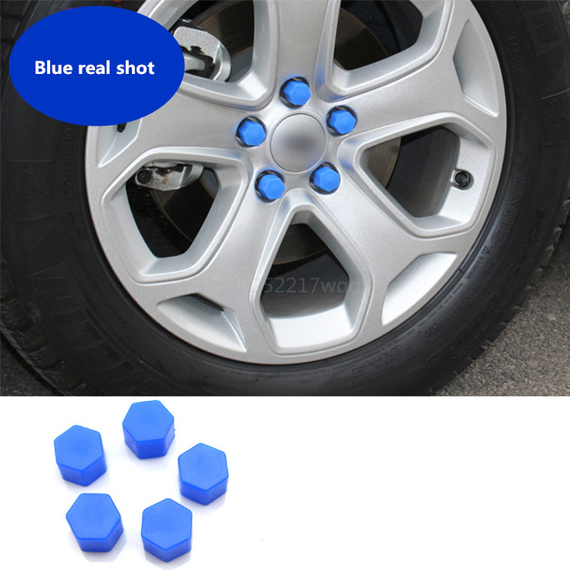 Car Wheels screw cover silicone material Exterior products For Honda Accord FIT CITY CRV CR-V CIVIC Crosstour HR-V Vezel