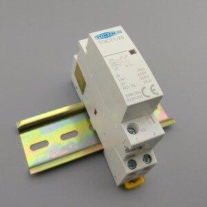 Image 2 - TOCT1 2P 25A 220V/230V 50/60HZ su guida Din Per Uso Domestico ac Modulare contattore 2NO 2NC o 1NO 1NC
