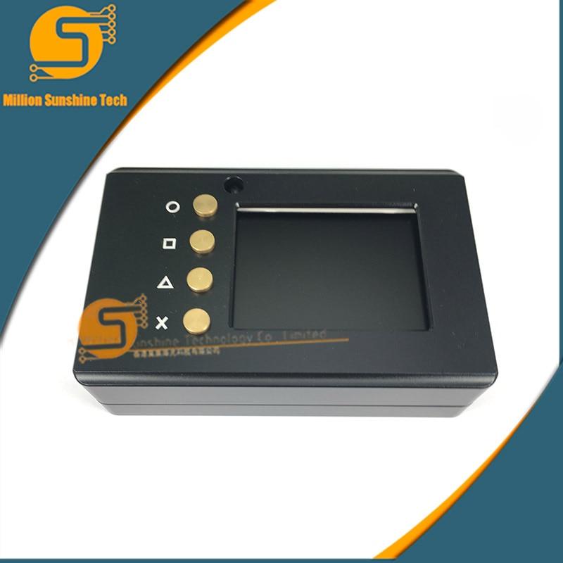 Haute Qualité 2.2 pouce Framboise Pi 3 TFT Écran LCD affichage + Boîtier En Aluminium Box Boîtier compatible pour Raspberry Pi 2