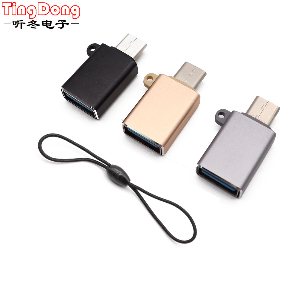 Type C Adapter Type-C To USB 3.0 OTG Cable USBC Converter For Huawei P20 Pro For Samsung For Xiaomi  Data Converter