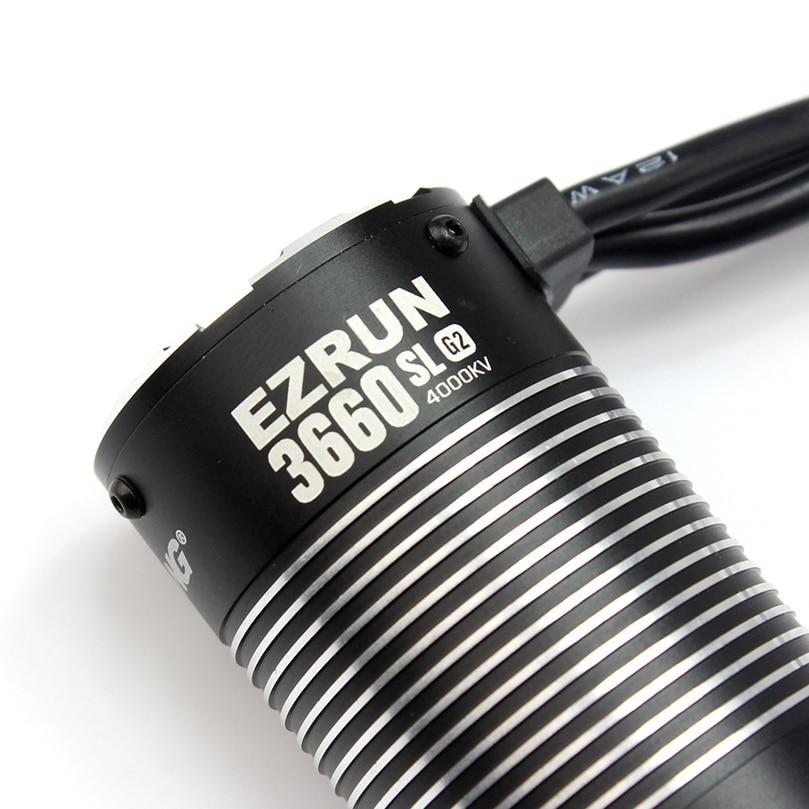 Hobbywing EZRUN 3660 G2 4000KV 3300KV Brushless Motor Speed Controller มอเตอร์สำหรับรถบรรทุก 1/10 RC-ใน ชิ้นส่วนและอุปกรณ์เสริม จาก ของเล่นและงานอดิเรก บน   2