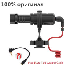 Original Rode VideoMicro Microphone/Microfone On-Camera Microphone (Free TRS to TRRS Adapter Cable)