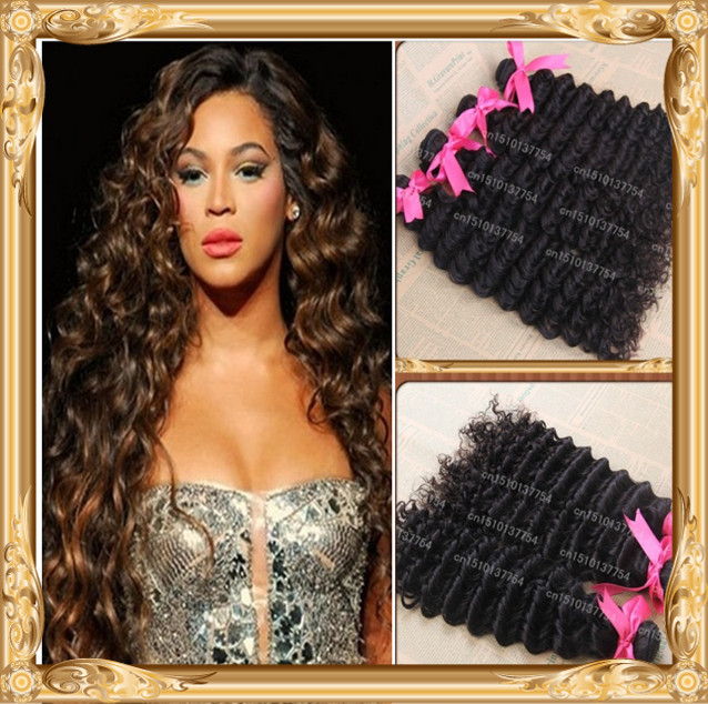 Brazilian Deep Wet And Wavy Weave 5pcs Lot 10inch 30inch Available