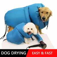 Secador de Perro Puff y Fluff secador de pelo para mascotas secador de pelo soplador de verano Bulldog francés Chihuahua gato Ropa Perro Pug hond perro