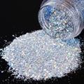 1 Box Transparent Blue Nail Sequins Paillette Dazzling Nail Glitter Manicure Nail Art Decoration