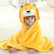 Baby Towel Cartoon Hooded