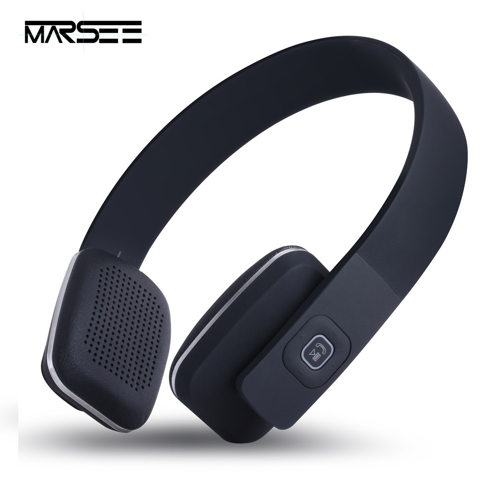 Bluetooth headphones MARSEE 4.1 Wireless Over-Ear headphones Portable Sports Stereo headsets with Mic for Mobile Phone