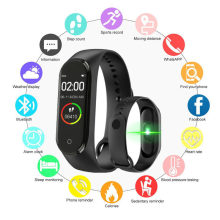 M4 Smart Armband Band Polsband Hoge Kwaliteit Nieuwe Label Fashional Draagbare Multifunctionele Meertalige Smart Polsband(China)