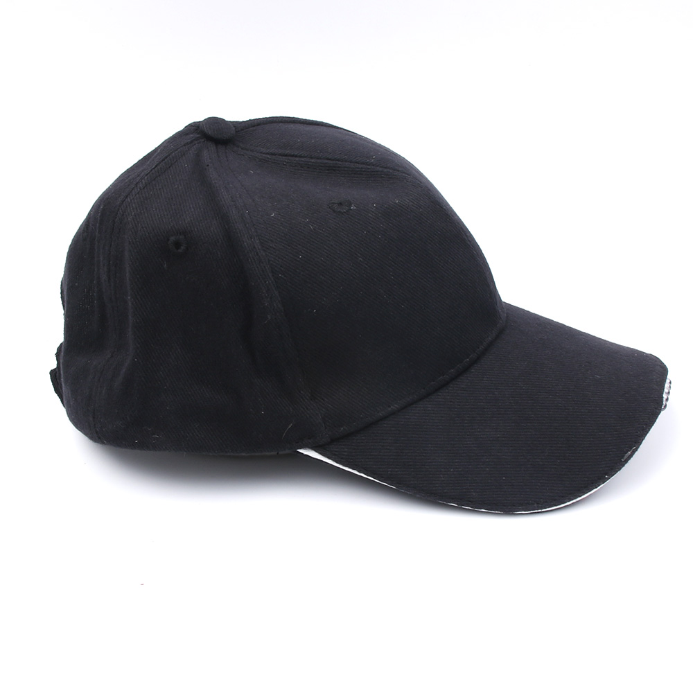Outdoor Unisex 5 Lighted Cap Black Novelty FastenerTape Baseball Hat - Kläder tillbehör - Foto 1