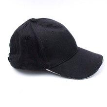 Открытый Unisex 5 Освещенная кепка Black Новинка FastenerTape Бейсбольная шляпа Ночной свет Рыбалка Кемпинг Бег 1PC Популярная новая мода