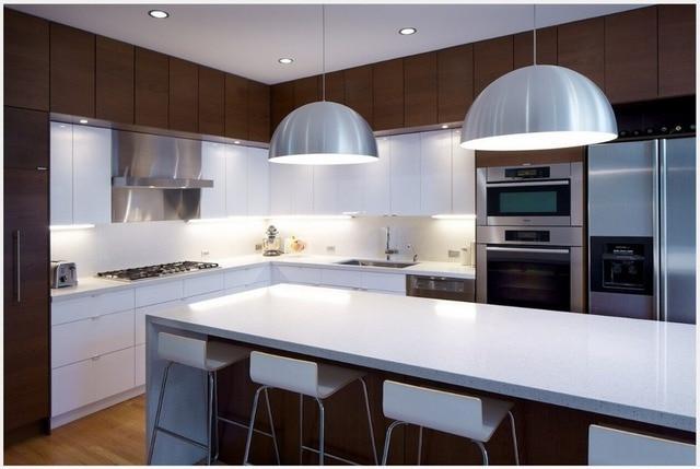 € 135.23 |2017 laca cocina armario gabinetes de cocina modular personalizar  blanco muebles de cocina en Piezas y accesorios de armarios de cocina de ...