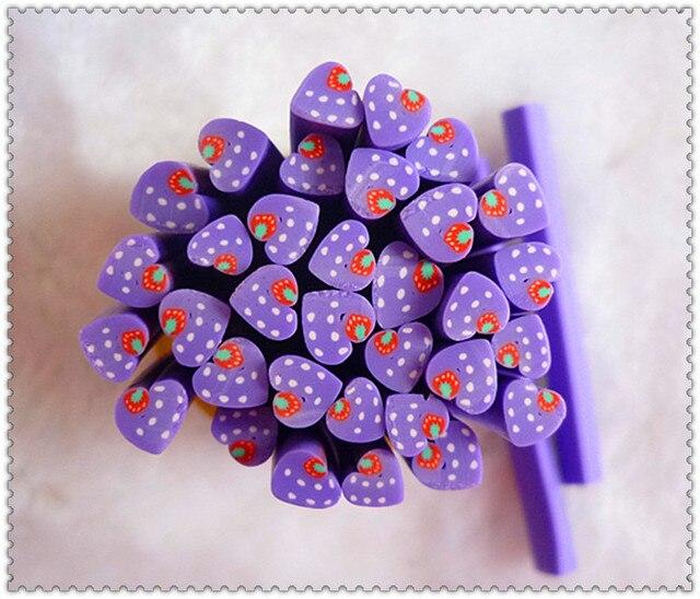 Nail art clay bar nail art diy accessories clay bar polymer clay stick polymer clay fruit of